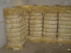 Natural fibres - baled sisal fibre in Brazil