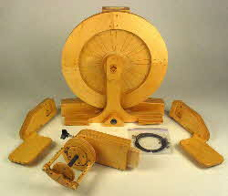 Spinolution Echo spinning wheel disassembled